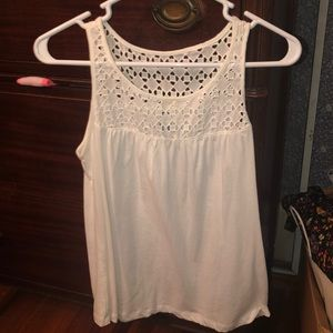 White old navy tank top